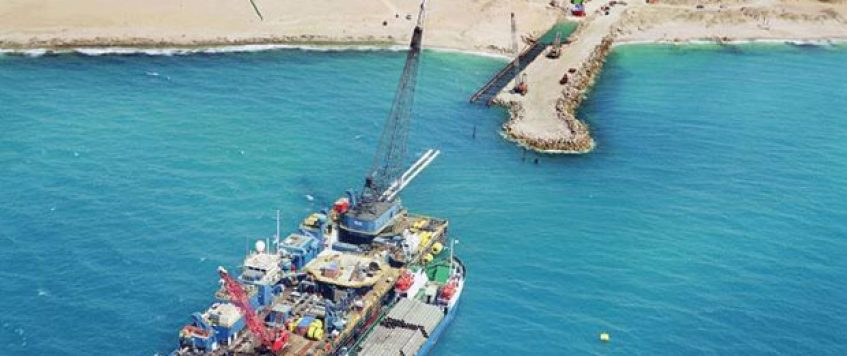 Offshore Gas Pipes Ashdod